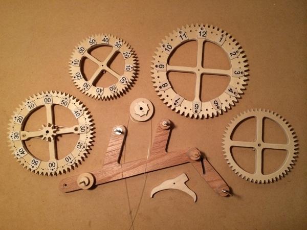 Clock Pieces